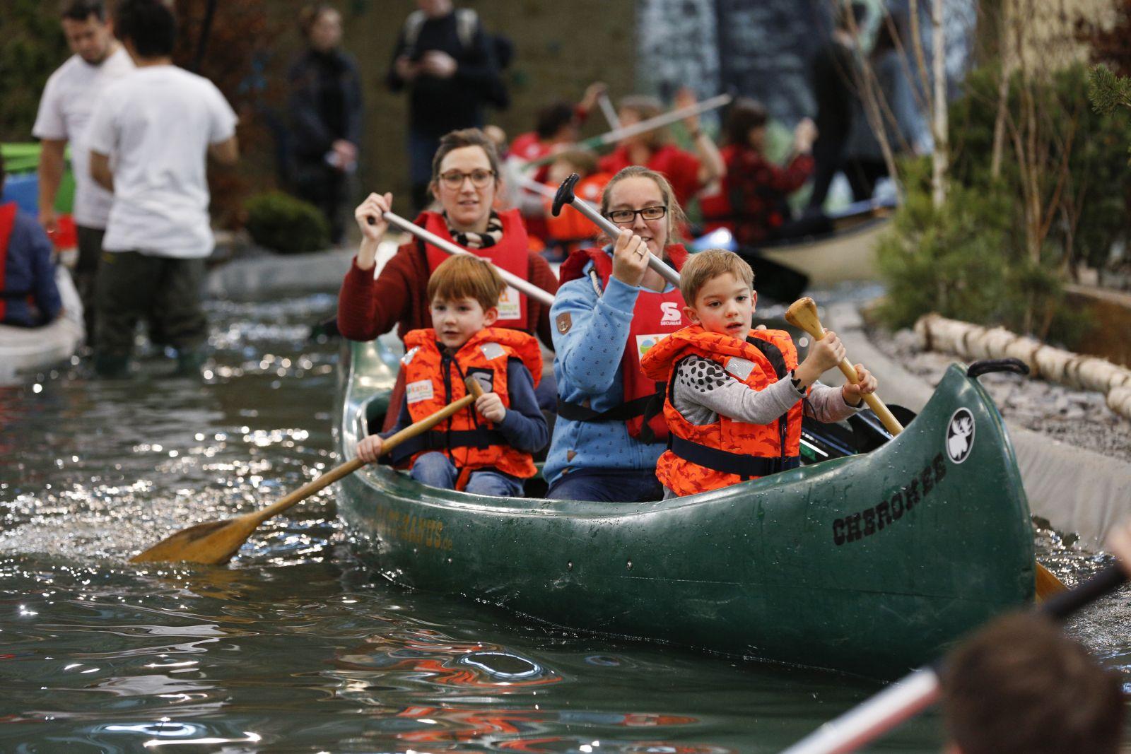 Alle in einem Boot: Jeder muss ran.