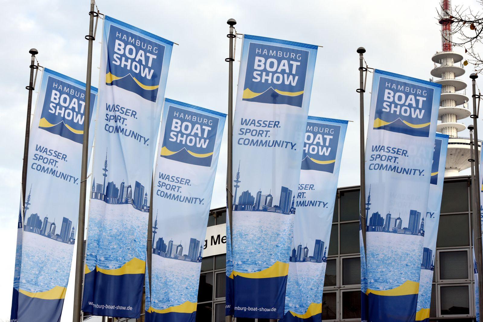 Am 23. Oktober startet die Hamburg Boat Show auf dem Messegelände.