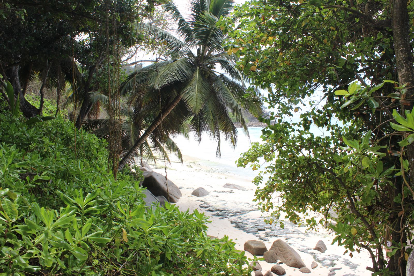 Mancher Strand versteckt sich vom Land her, ein Vorteil für Yachtcharterer. ©1aYachtcharter GmbH