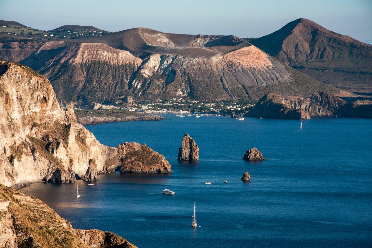 Vulcano Island from Lipari island, Foto jghuha, Fotolia.com