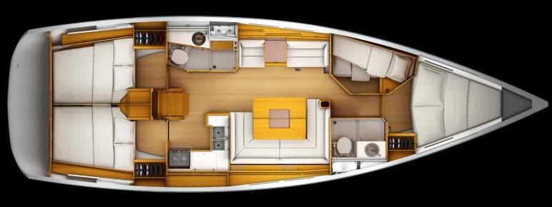 Yachten innenausstattung  Ibiza - Charterurlaub im Revier der Gegensätze | Yachtcharter-Blog ...