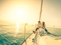 Romantische Flitterwochen in der Karibik